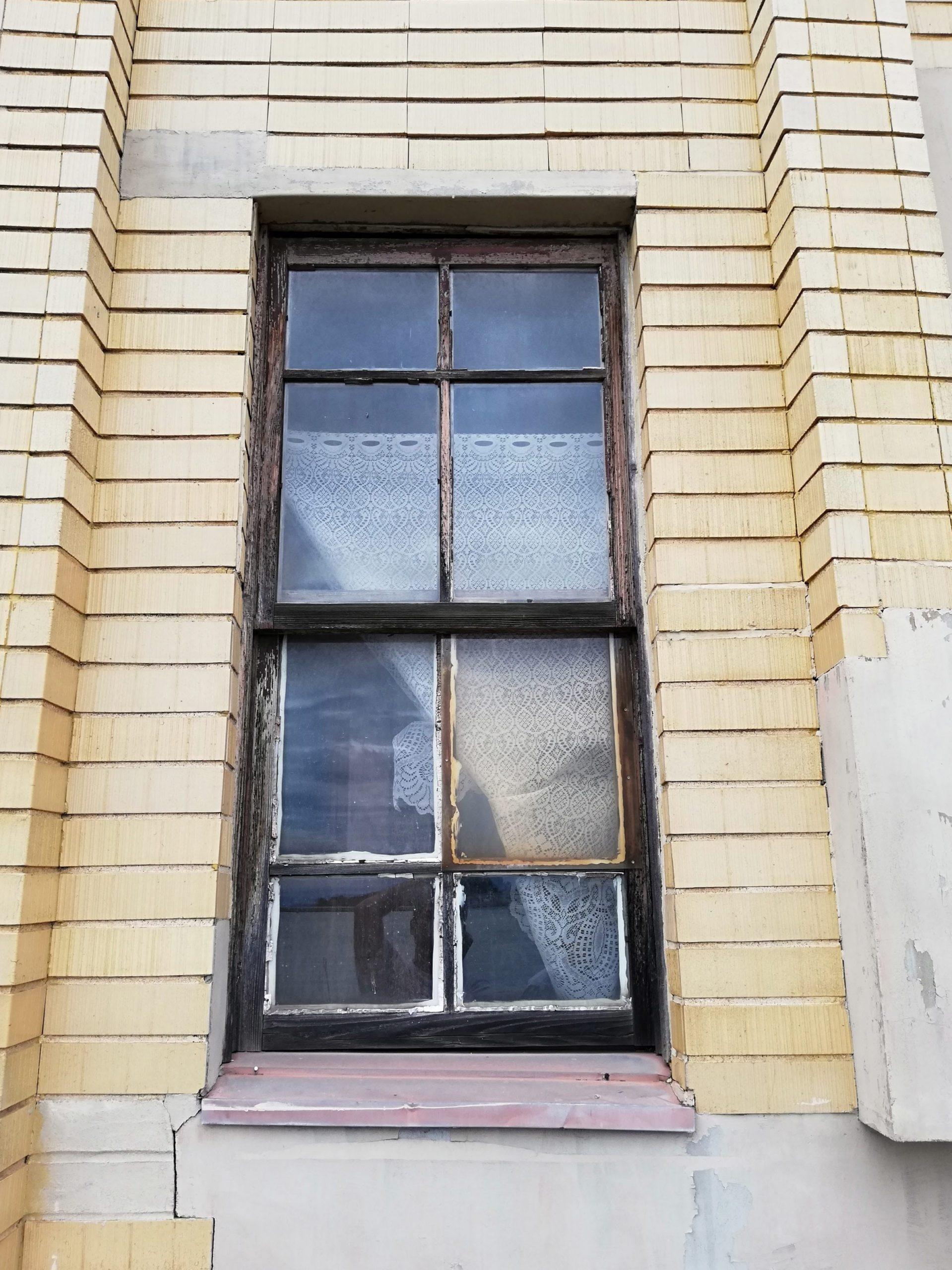 木製建具上げ下げ窓